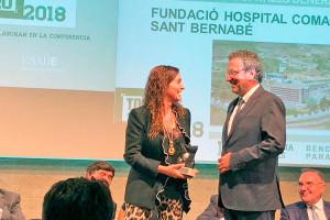 L'hospital Sant Bernabé de Berga, millor centre petit d'Espanya en gestió hospitalària global