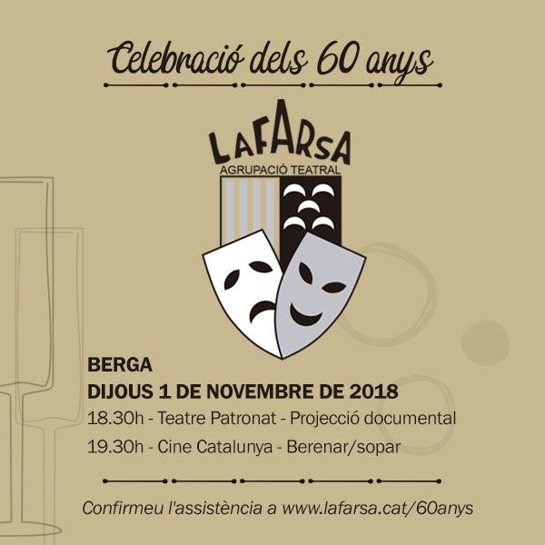 Celebració 60 anys de La Farsa @ Berga