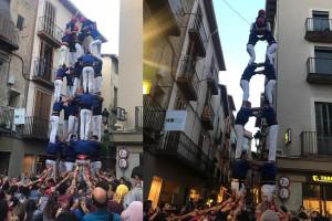 Els Castellers de Berga brillen a casa i descarreguen la cinquena torre de 7 de la temporada