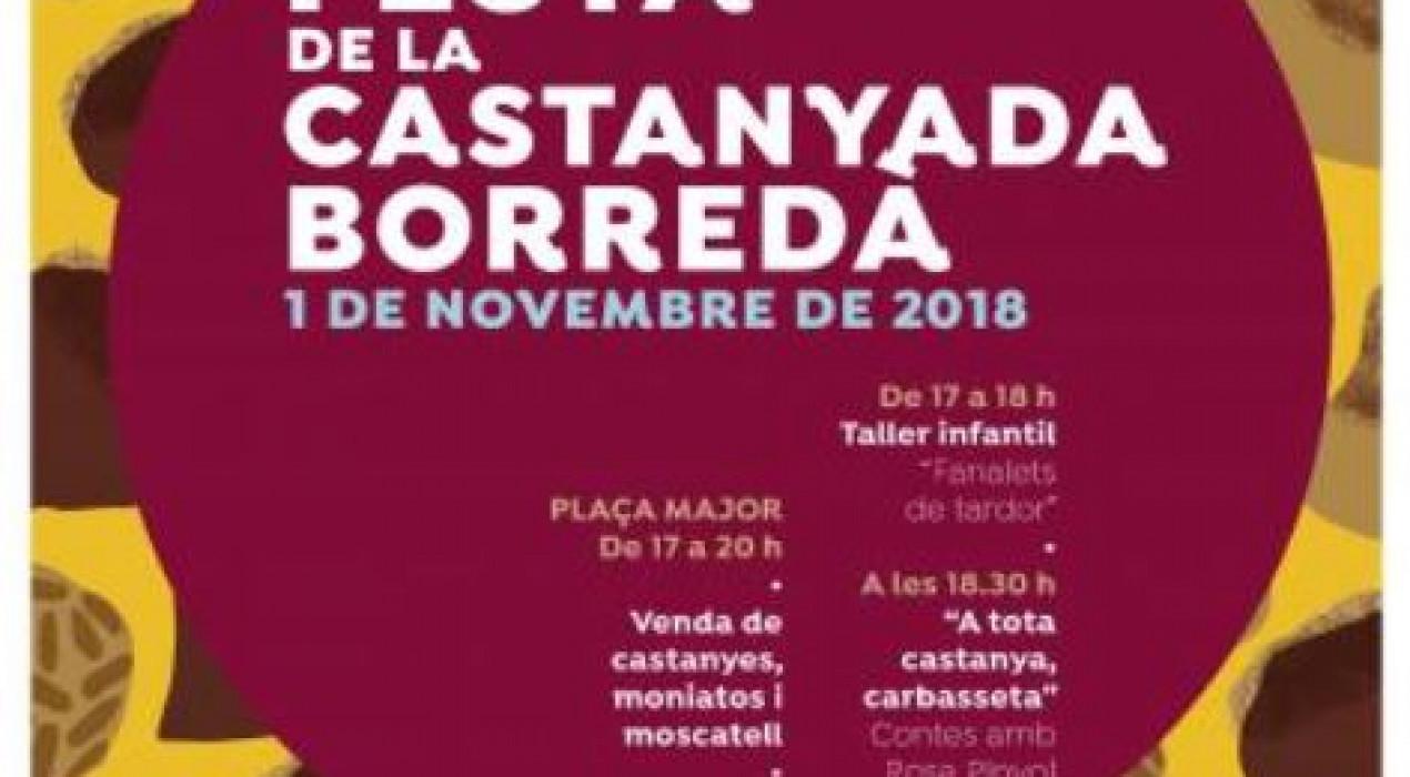 Castanyada 2018 a Borredà