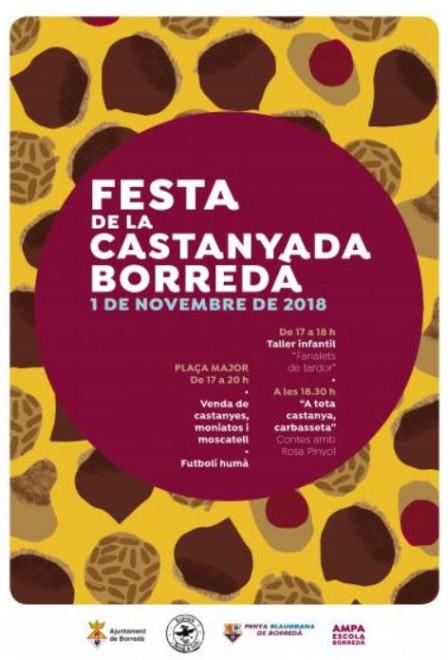 Castanyada 2018 a Borredà @ Plaça Major (BORREDÀ)