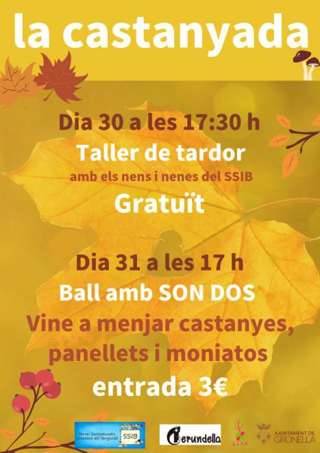 """Castanyada 2018 a """"La Llar"""" de Gironella @ Casal de la Gent Gran """"La Llar"""" (GIRONELLA)"""