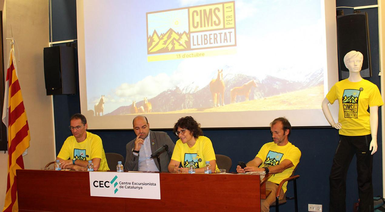 La iniciativa Cims per la Llibertat, parida al Berguedà i el Lluçanès, frega els 11.000 inscrits