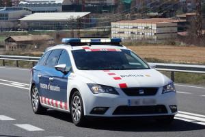 Un control a Castellbell i el Vilar caça tres implicats en un robatori a Berga