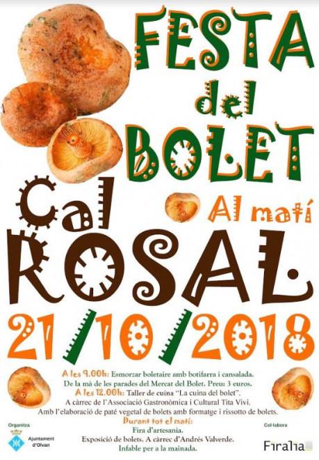 Festa del Bolet de Cal Rosal 2018 @ Cal Rosal