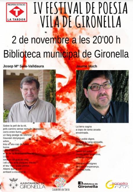 IV FESTIVAL DE POESIA VILA DE GIRONELLA @ Biblioteca de Gironella