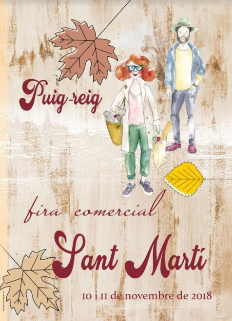 Fira de Sant Martí 2018 @ Puig-reig