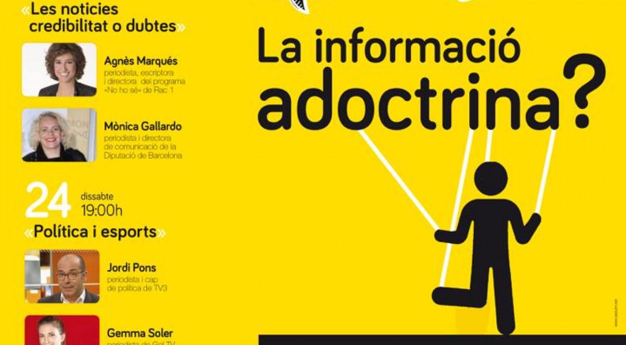 """Fòrum 10 Comunicació 2018: """"La informació adoctrina?"""""""