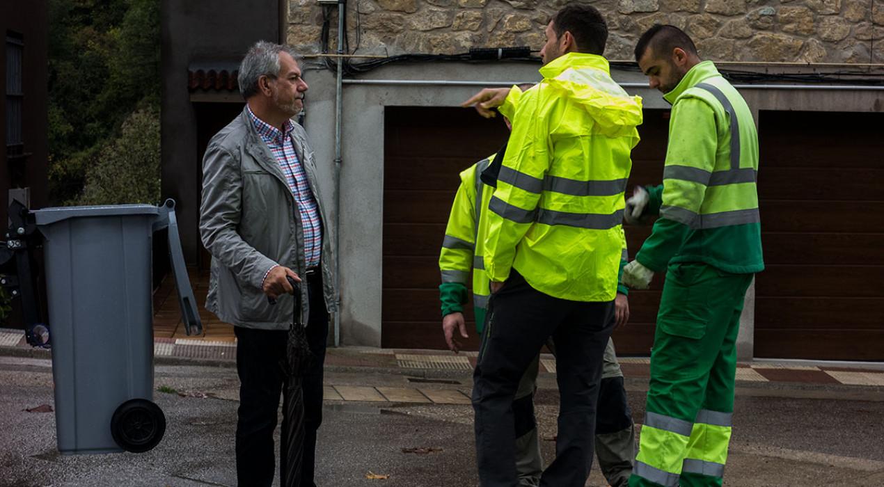 El Consell Comarcal del Berguedà descarta, de moment, ampliar els dies de recollida de residus als comerços