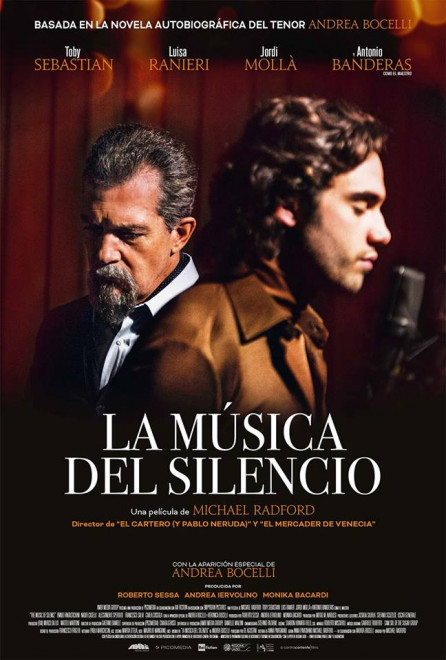 """Cinema a Berga: """"LA MÚSICA DEL SILENCIO"""" @ Teatre Patronat de Berga"""