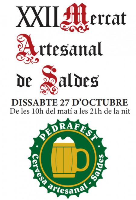 Mercat artesanal i Pedrafest 2018 @ Saldes