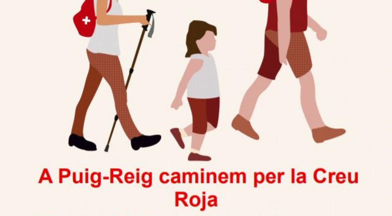 Passejada solidària a Puig-reig