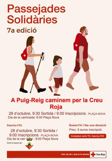 Passejada solidària a Puig-reig @ Plaça Nova (PUIG-REIG)