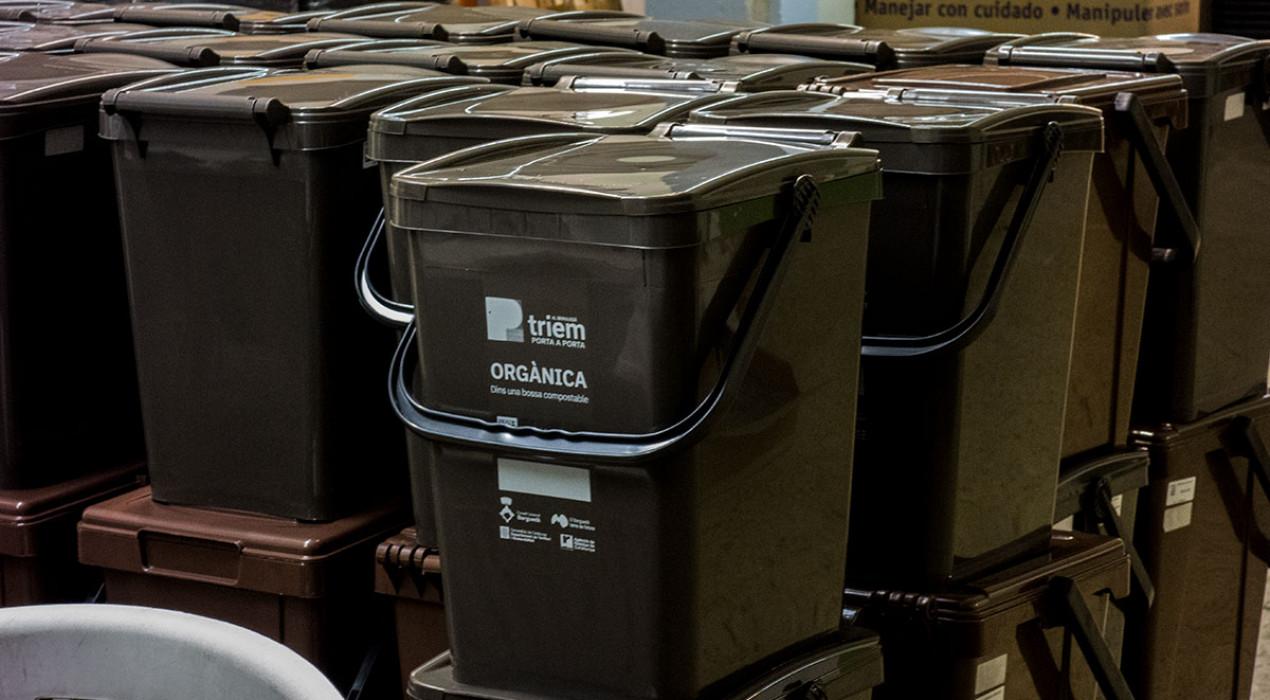 Els contenidors d'orgànica i rebuig desapareixeran dels carrers de Berga aquest dissabte