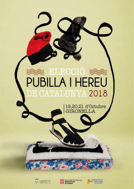 Elecció Pubilla i Hereu de Catalunya 2018 @ Gironella