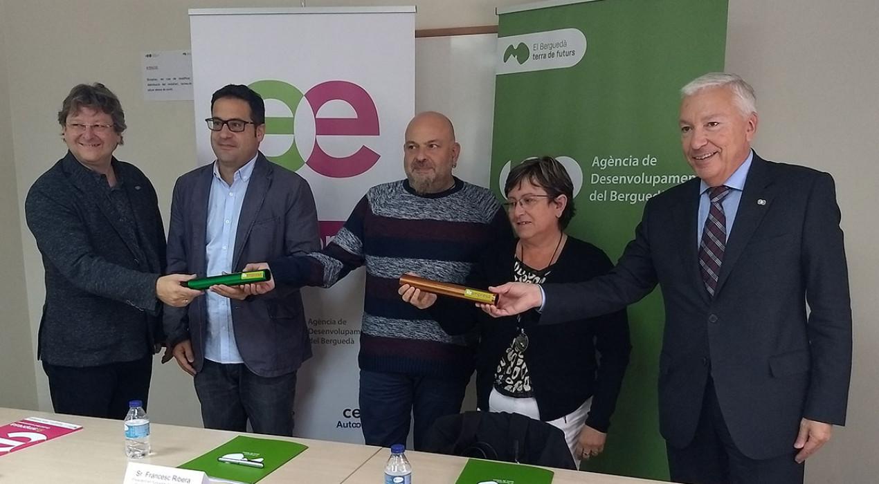 El Berguedà salvaguarda 49 llocs de treball en cinc anys gràcies al projecte Reempresa