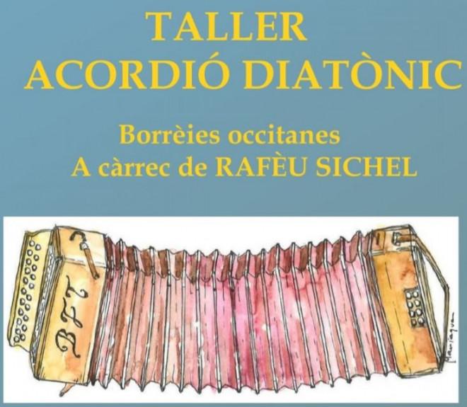 Taller d'acordió diatònic @ Centre Cívic (BERGA)