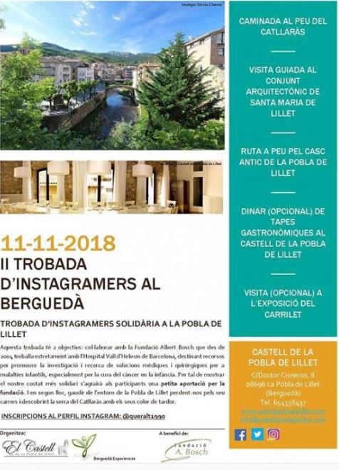 II Trobada d'instagramers al Berguedà @ Castell de La Pobla de Lillet