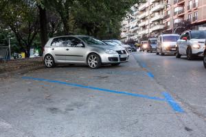Berga converteix en zona blava els aparcaments de davant del bar Dickens