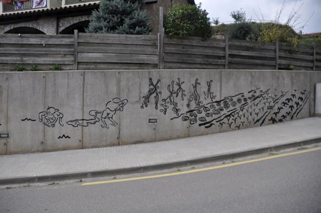 15 Mur carrer Santa Maria 4