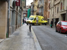 Atropellen un home al carrer Cervantes de Berga
