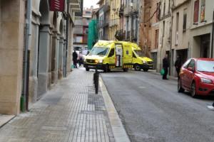 Atropellen un home al carrer Cervantes de Berga