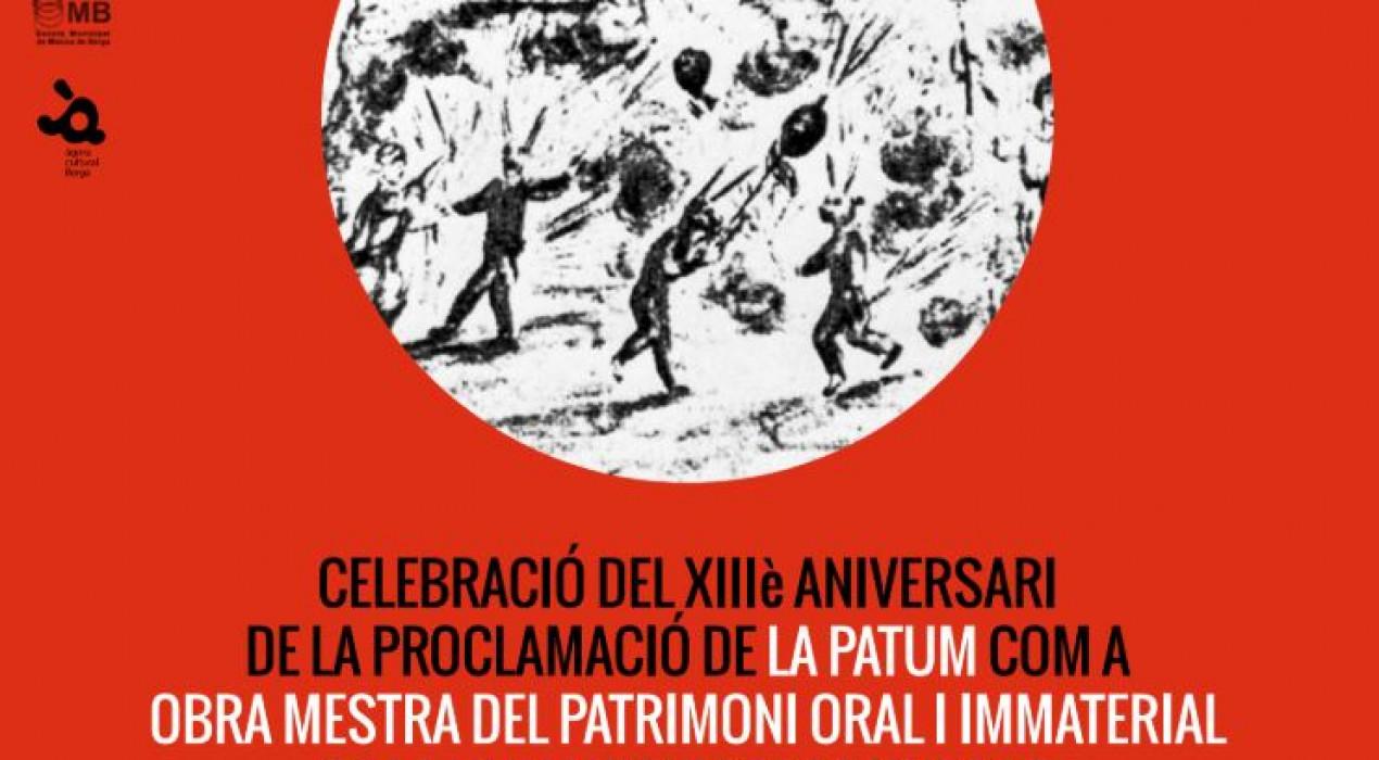 13è aniversari de La Patum com a Patrimoni de la Humanitat