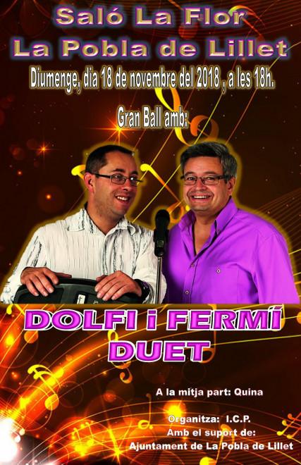 Ball a La Pobla de Lillet: Dolfi i Fermí @ Saló La Flor (LA POBLA DE LILLET)