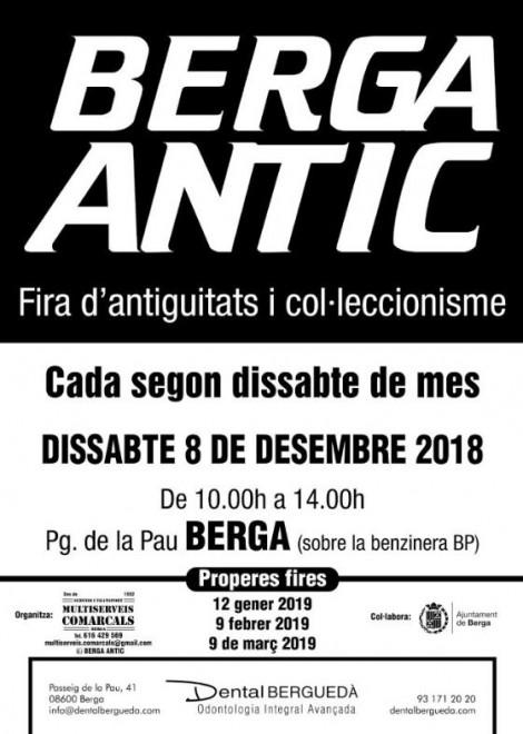 Berga Antic · desembre 2018 @ Passeig de la Pau (BERGA)