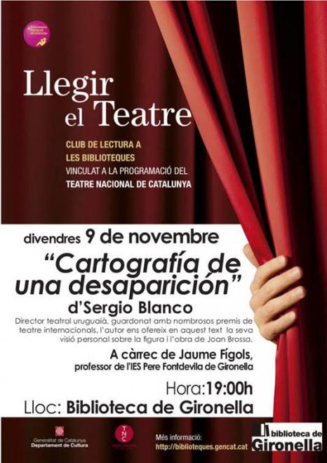 Club de lectura de teatre @ Biblioteca de Gironella