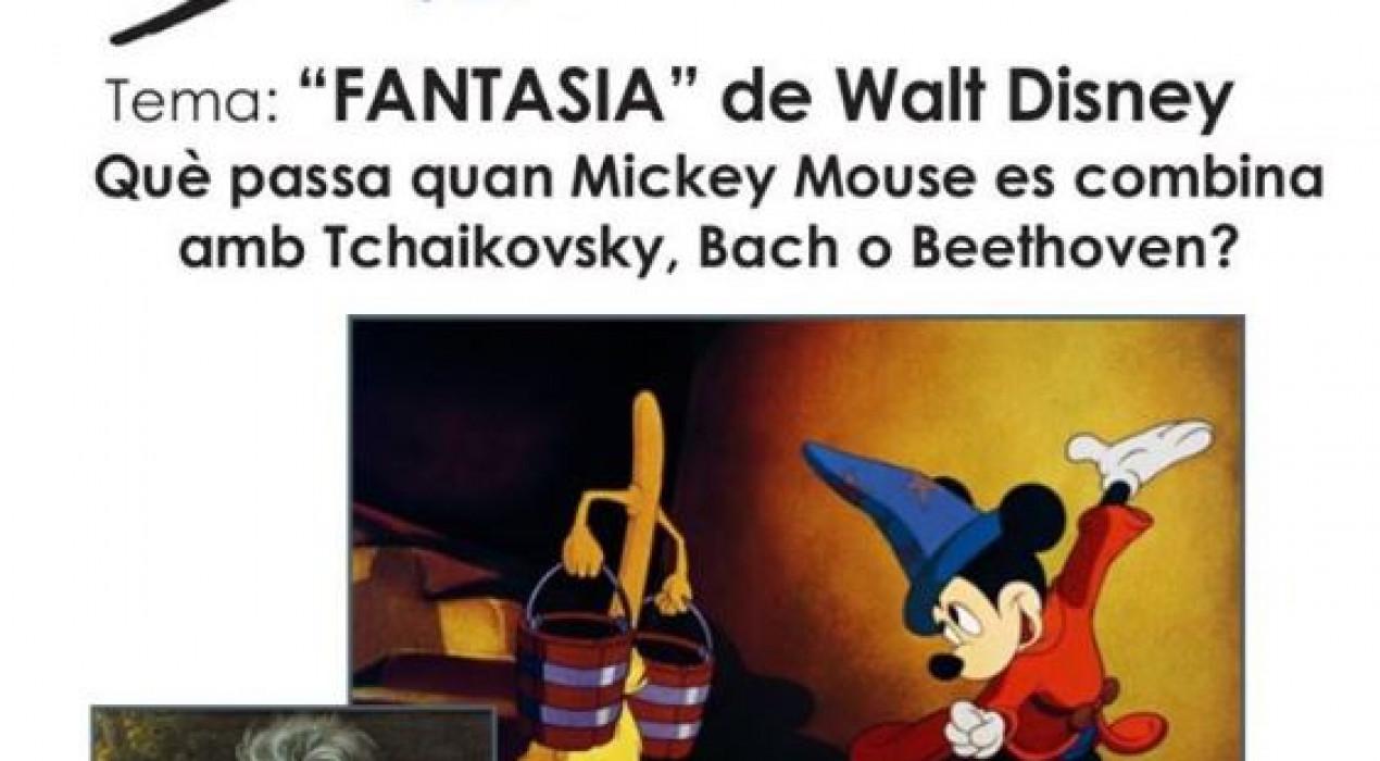 Club de música: FANTASIA de Walt Disney
