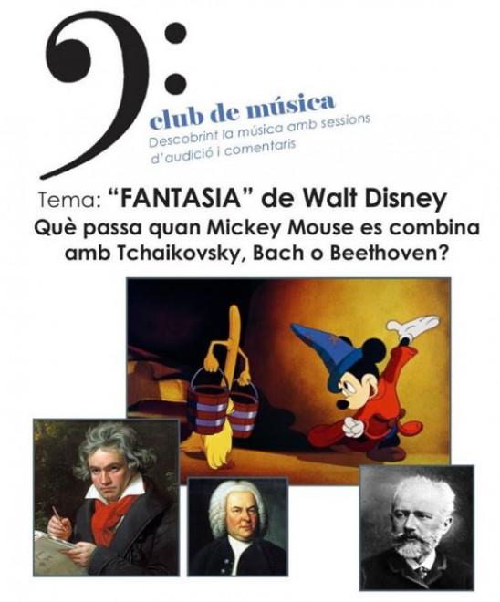 Club de música: FANTASIA de Walt Disney @ Biblioteca de Gironella