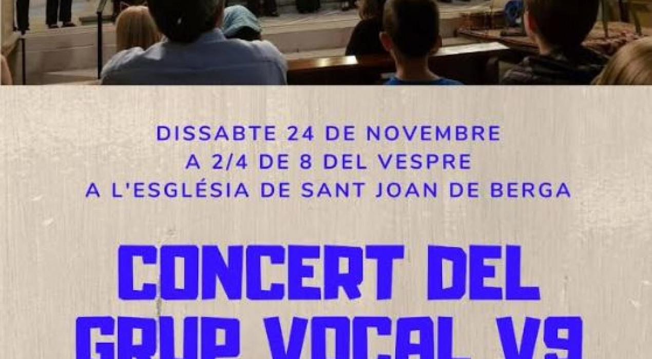 Concert del grup vocal V9
