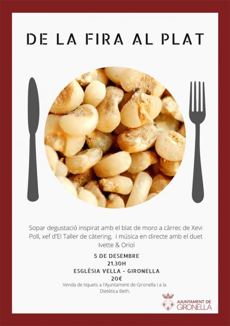 """Sopar """"De la fira al plat"""" @ Església Vella de Gironella"""