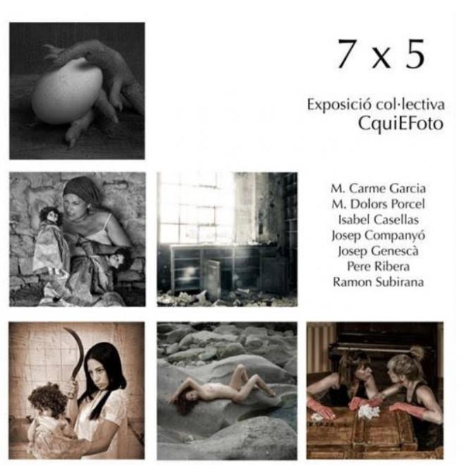 Exposició Col·lectiva CquiEFoto 7 x 5 @ Biblioteca de Gironella