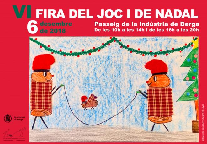 VI Fira del Joc i de Nadal @ Passeig de la Indústria (BERGA)