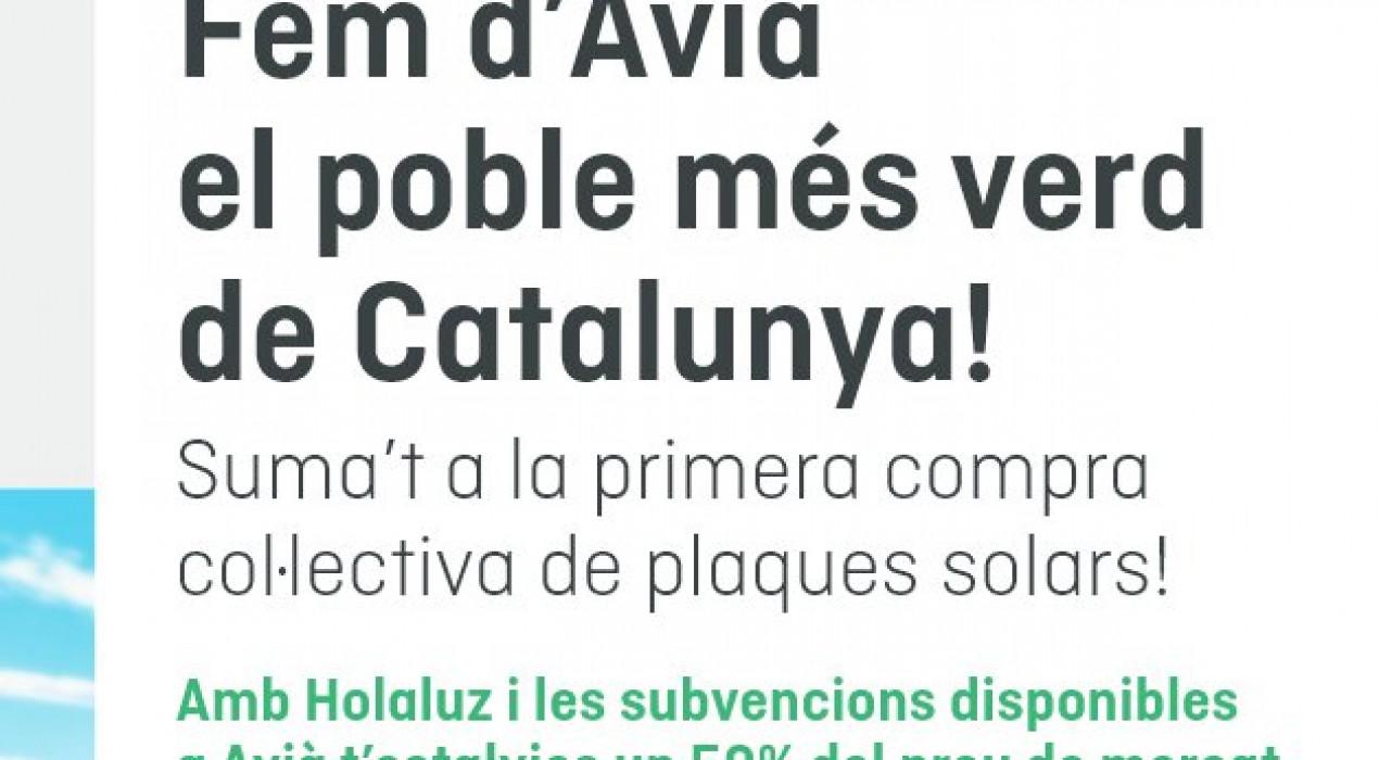 XERRADA: Fem d'Avià el poble més verd de Catalunya!