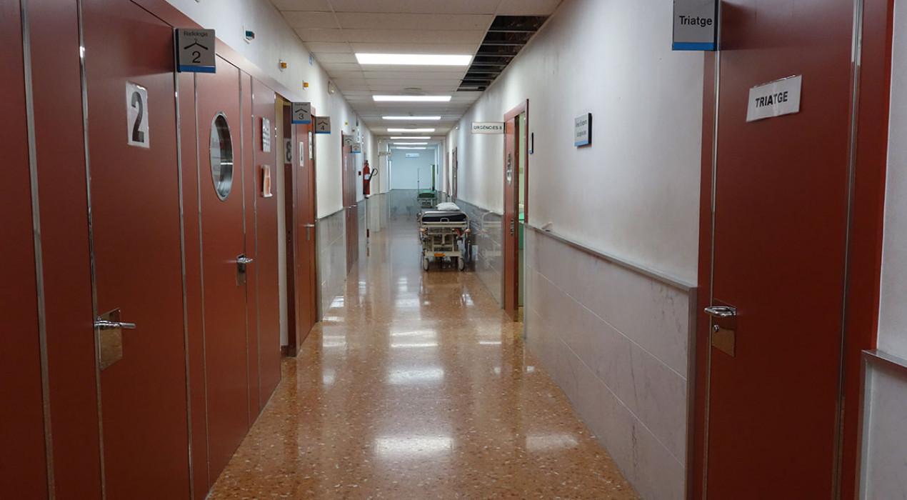 L'hospital de Berga baixa dels 40 ingressats per Covid-19 per primer cop en dues setmanes