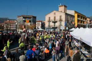 Puig-reig recupera la desfilada de moda de la fira comercial de Sant Martí