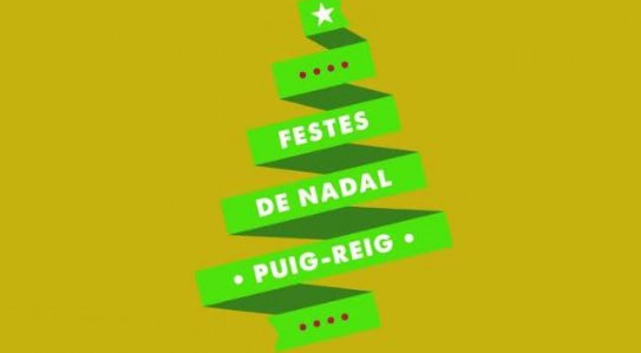 Encesa llums de Nadal a PUIG-REIG