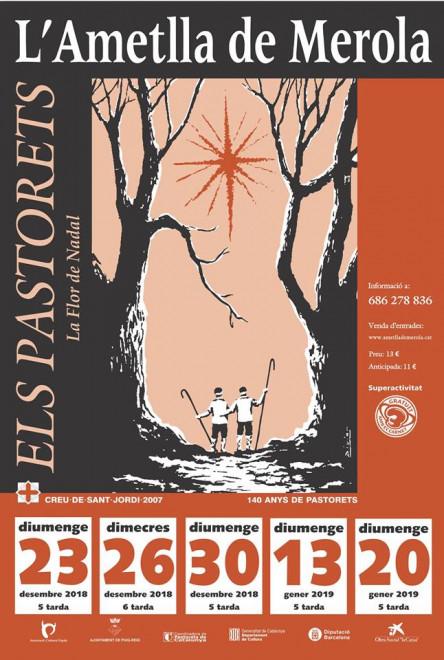 Els Pastorets de l'Ametlla de Merola 2018 @ Teatre de l'Ametlla de Merola