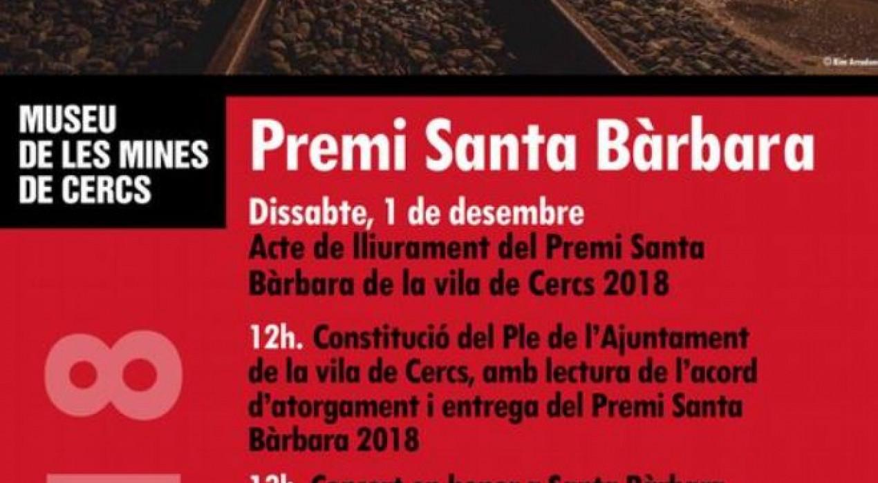Premi Santa Bàrbara 2018