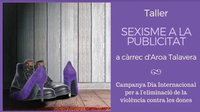 Taller: Sexisme a la publicitat @ Biblioteca Ramon Vinyes i Cluet (BERGA)