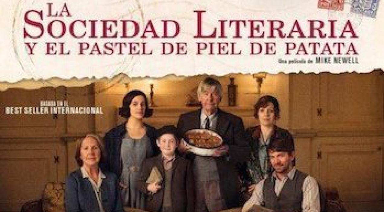 Cinema a Berga: LA SOCIEDAD LITERARIA Y EL PASTEL DE PIEL DE PATATA