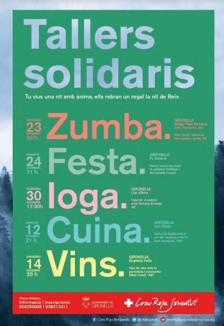 Tallers solidaris 2018: ZUMBA @ Antiga Sala Kambüa (GIRONELLA)