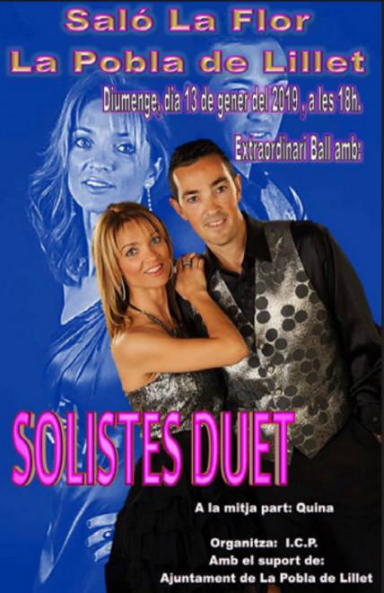 Ball a La Pobla de Lillet: Solistes Duet @ Saló La Flor (LA POBLA DE LILLET)