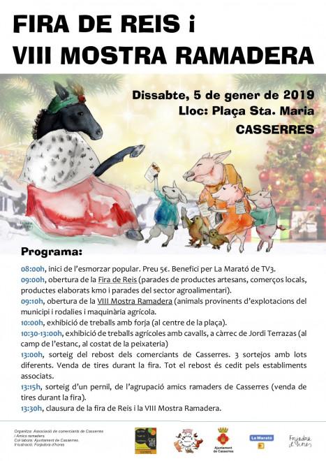 Fira de Reis i mostra ramadera 2019 @ Casserres
