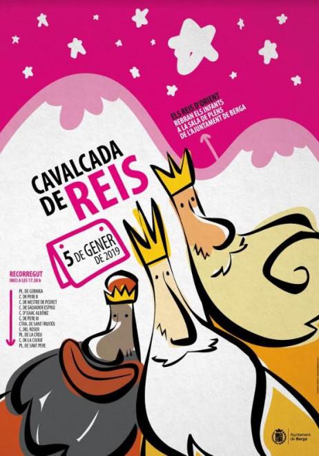 CAVALCADA DE REIS a Berga 2019 @ Sortida de la plaça Gernika (BERGA)
