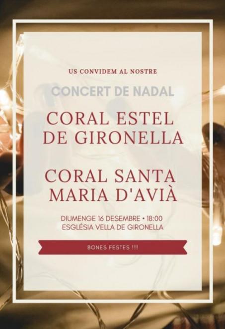 CONCERT CORAL ESTEL @  Església Vella (GIRONELLA)