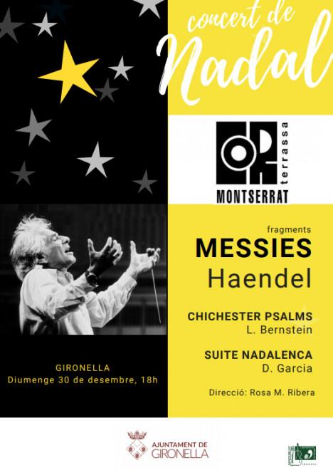 Concert de Nadal Cor Montserrat Terrassa @ Església Vella (GIRONELLA)